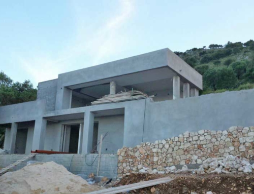 Modern Design Villa in Skala