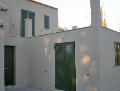 New Maisonette Nearly Complete in Skala