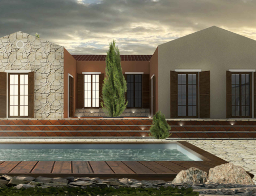 Asos Impressive Top Of The Hill Villa (under construction)